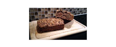 Image: Dette sunne brødet er uten mel, gjær og elting