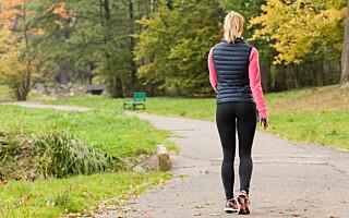 Image: Så mange skritt må du gå om dagen for å få god helseeffekt