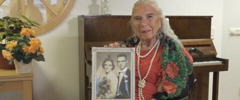 Image: Bengt ble Birgitta da hun var 83: – Angrer ingenting