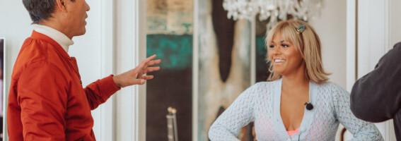 Image: Alexandra Joner om klessjokket: - Jeg fikk det rett i fleisen!