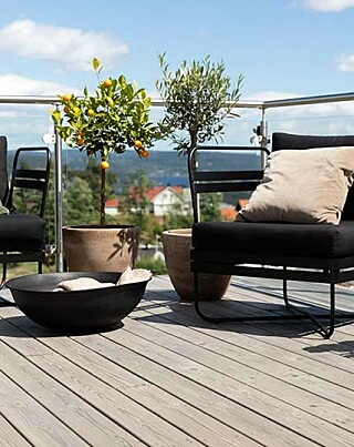 Image: Så enkelt skifter du terrassefarge