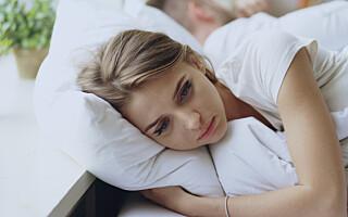 Image: - Når han stryker meg over ryggen, får jeg lyst til å forsvinne