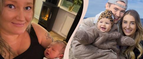 Image: Karin (38) er både småbarnsmor og farmor