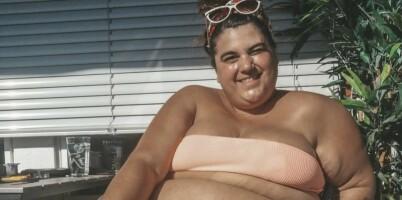 Image: «Skal ikke vi som er tjukke få nyte sommeren?»