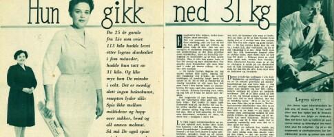 Image: På 50-tallet gikk «fru Liv» ned 31 kilo på denne dietten: - Like effektiv i dag