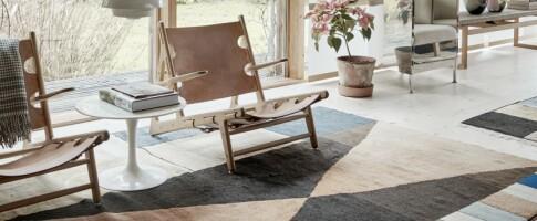 Image: Peters hjem er spekket med designklassikere