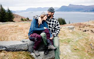Image: Katrines mann måtte forlate California og ble koronafast i den norske vinteren