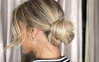 Image: Slik lager du denne romantiske frisyren