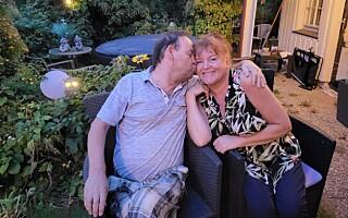 Image: Lisbeth og Tore ga hverandre sitt første kyss. Det skulle gå 25 år til neste