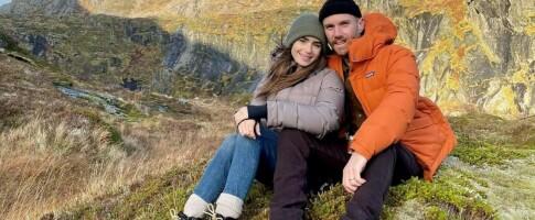 Image: Hollywood-stjernen la bryllupsreisen til Lofoten!