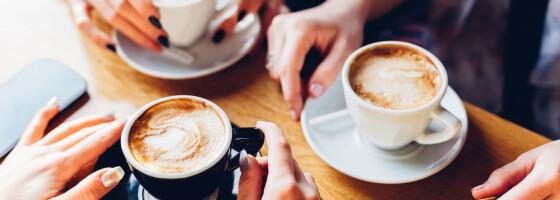 Image: Derfor tåler noen av oss å drikke kaffe sent på dagen