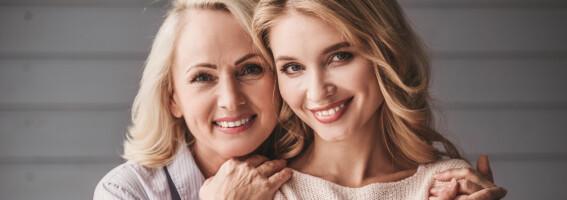 Image: Slik endrer huden seg i 20-, 30-, 40- og 50-årene