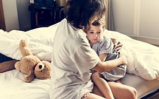 Image: Ser barnet ditt spøkelser og «døde mennesker»?