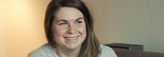 Image: Silje fikk vite at hun hadde hatt Tourettes syndrom hele livet - uten at noen hadde oppdaget det