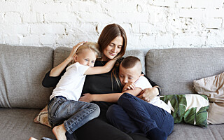 Image: Tobarnsmødre er 40 prosent mer stressa enn andre
