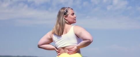 Image: Johanna turte ikke bruke shorts på 20 år