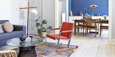 Image: Lek med farger og gjør hjemmet mer levende