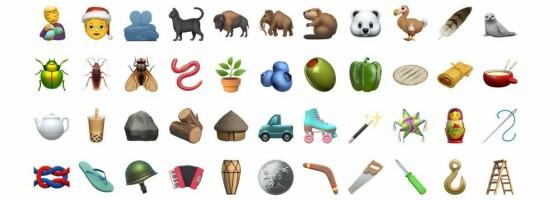 Image: Emojiene du kan glede deg til å bruke i 2021