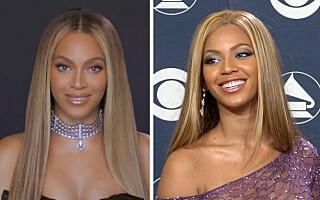 Image: 18 år skiller disse Beyoncé-bildene: Sjekk stilforvandlingen!