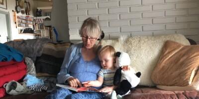 Image: - Savnet av barnebarn er vanskeligst