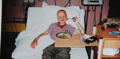 Image: Sønnen var bare 8 år da han fikk hjerneslag