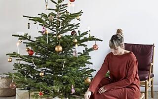 Image: - Juletreet holder akkurat til julaften