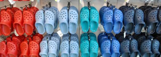 Image: Motenettsted: - 2021 er Crocs-en sitt år