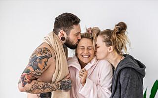 Image: Saskia er gift med Marcin og forlovet med Lui