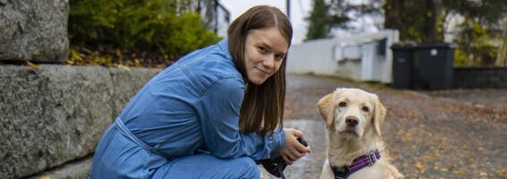 Image: Ingrid (26) slet med en sjelden diagnose som ga henne utvekster i skjelettet