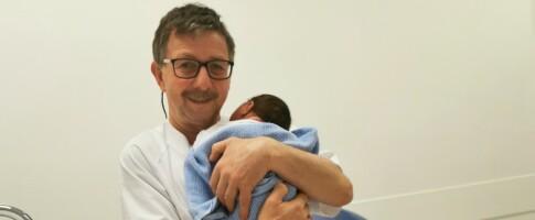 Image: Paul er mannlig jordmor: - Jeg trenger ikke annen «dop» enn jobben