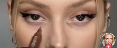 Image: Poser under øynene har blitt trendy