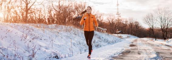 Image: Derfor bør du løpe ute – også om vinteren