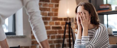 Image: Når kjæresten tyr til vold én gang, vil det skje igjen?