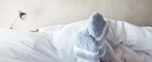 Image: Derfor bør du sove med sokker