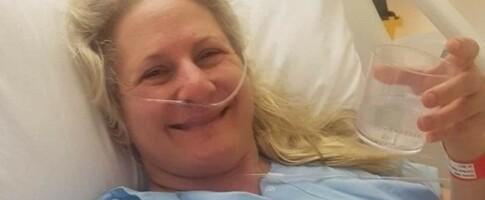 Image: Trudy (45) har havnet i seks bilulykker