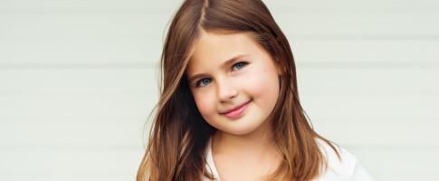 Image: Mettes datter var bare 8 år da hun kom i puberteten