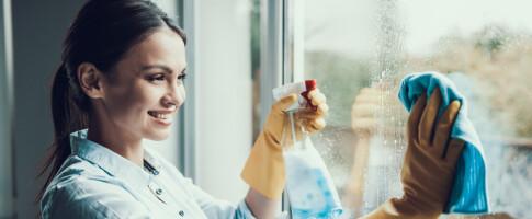 Image: Slik får du skinnende rene vindu - på en veldig enkel måte