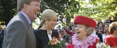 Image: Dronningen feiret med folket. Noen minutter senere var syv mennesker drept