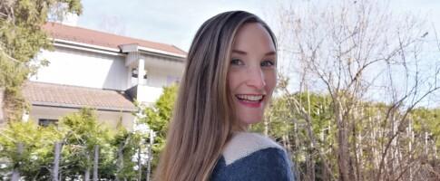 Image: Lise har ikke brukt shampo på ett år