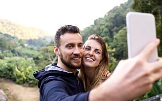 Image: - Lykkelige par legger ut flere bilder av hverandre