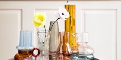 Image: Slik pynter du hjemme med glass!