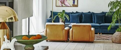 Image: Innred med lopper og klassisk design
