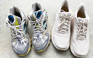 Image: Kan man vaske sneakers i vaskemaskinen?