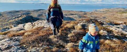 Image: Mons (4) og foreldrene går fra Oslo til Nordkapp