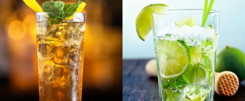 Image: Enorm kaloriforskjell på alkohol: 700 kalorier skiller disse to drinkene