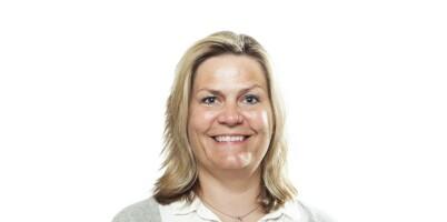 Image: Trine (47) fikk en blond og fresh look!
