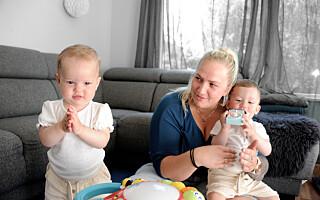 Image: Da Solveig ble alenemor for tvillinger, måtte hun be barnevernet om hjelp