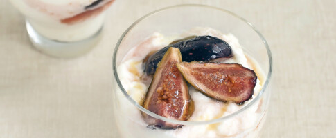 Image: Få oppskrift på en forfriskende parfait med fiken!
