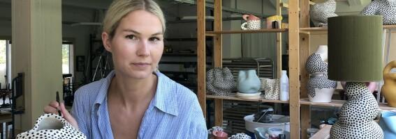 Image: Johanne ga opp en fast inntekt for å satse på yrke som keramiker