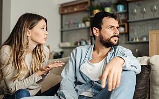 Image: - Par som unngår konflikter er mindre lykkelige